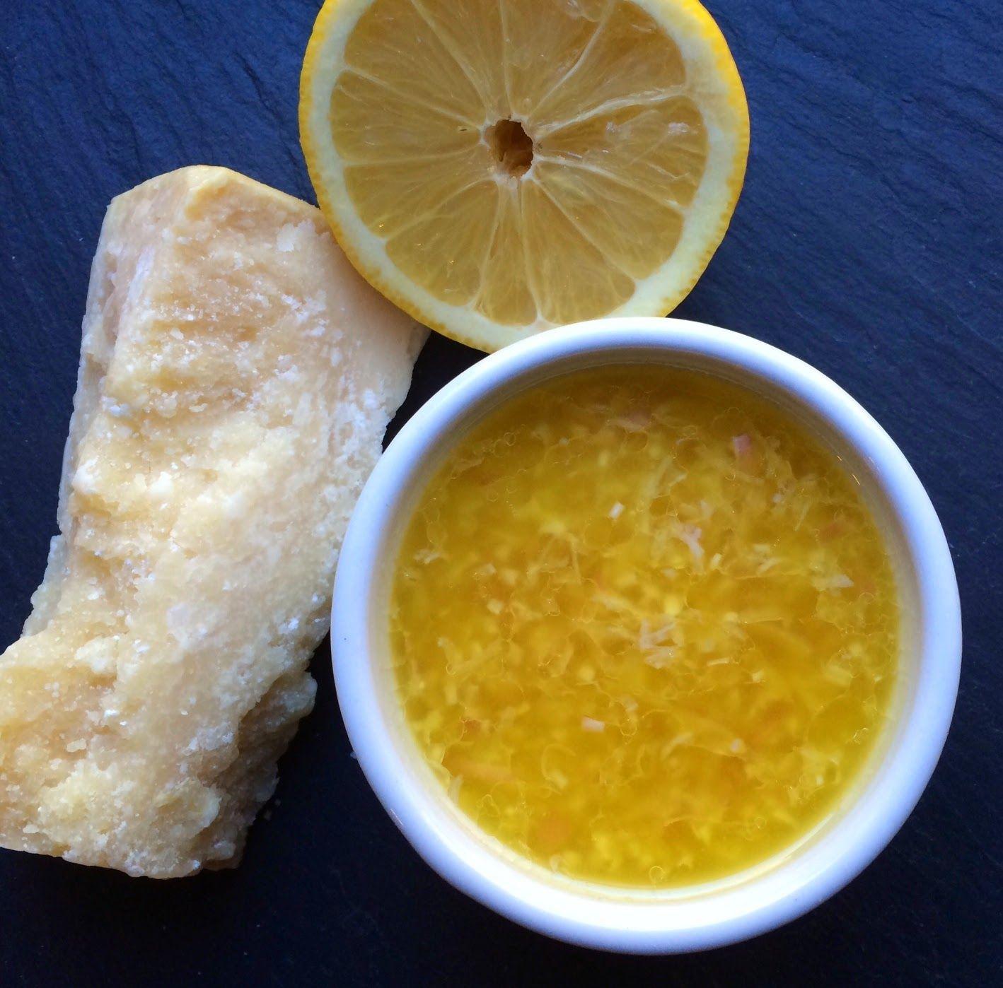 Clean Eating Lemon Parmesan Vinaigrette, homemade salad dressing: no added sugar, gluten-free