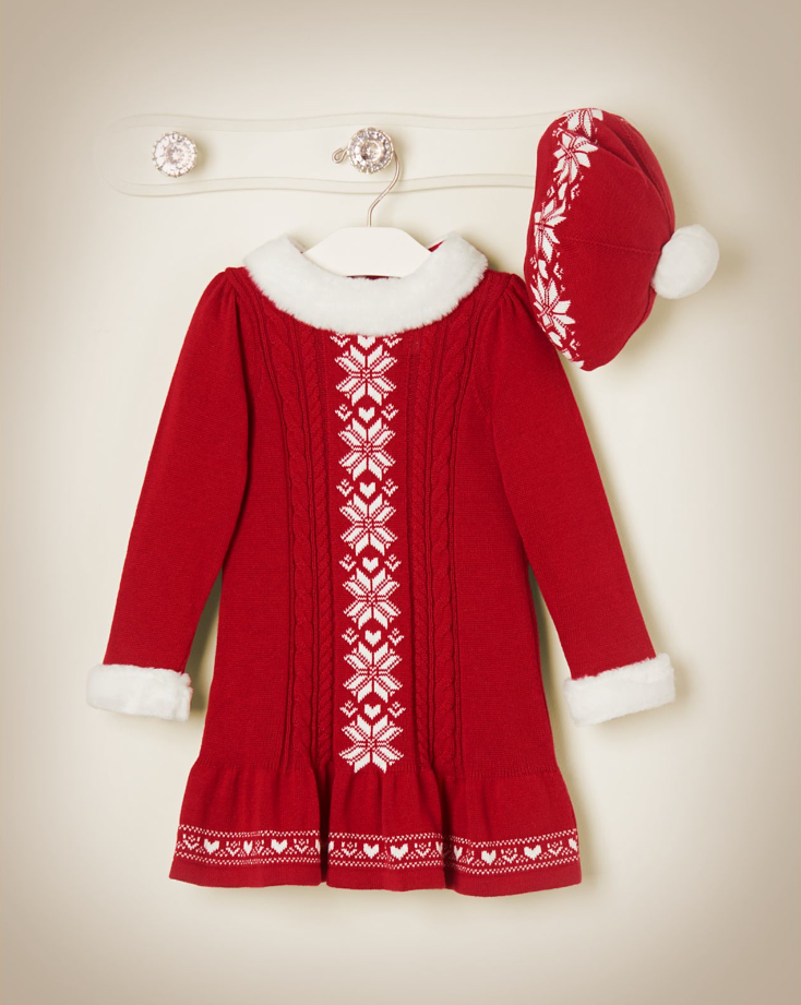 Snowflake Fair Isle Sweater Dress | A Timeless Holiday | Pinterest ...