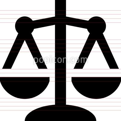 Scale Balance Vector Icon Vector Icons Icon Pictograph