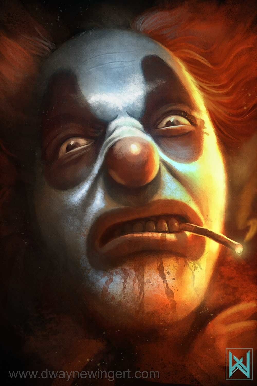 clown u2026 halloween pinterest evil clowns horror and scary