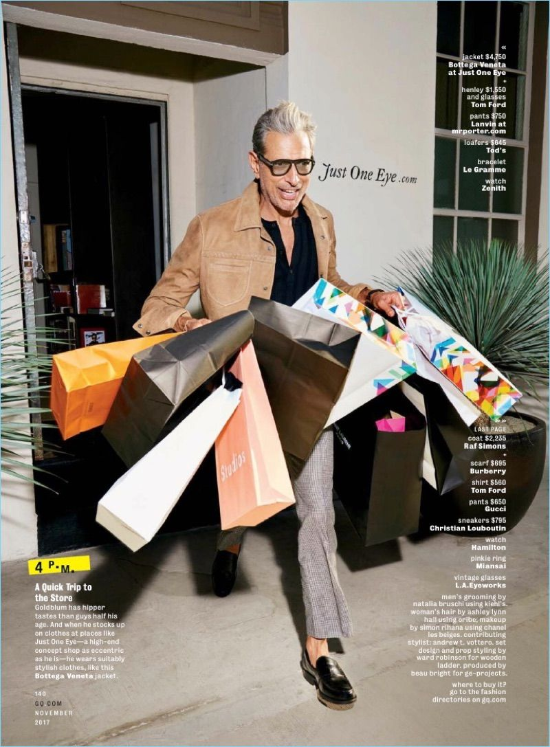 1141144d2d5 Jeff Goldblum Covers GQ Australia