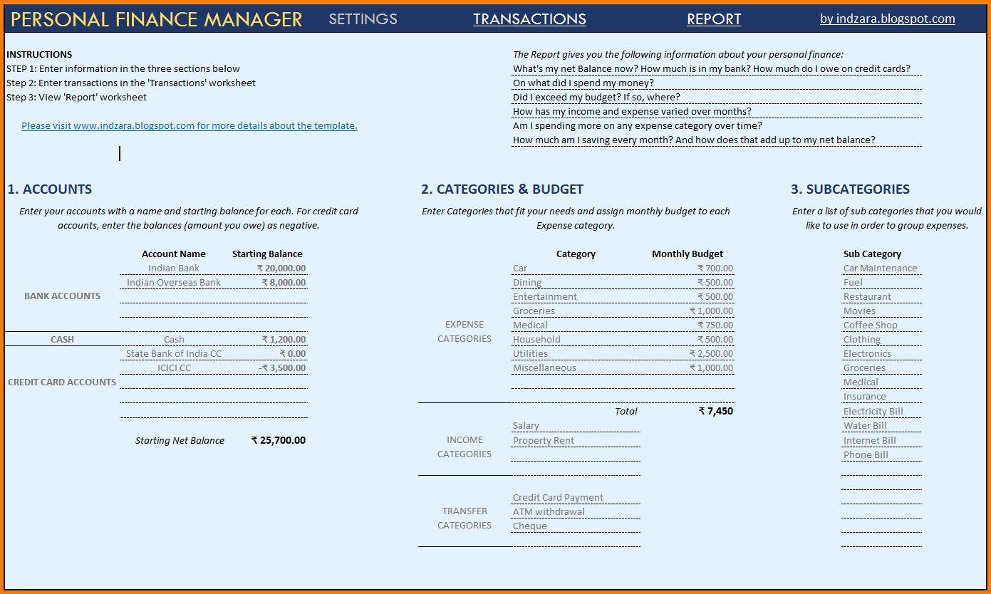 Financial Statement Template Xls in 2020 Statement