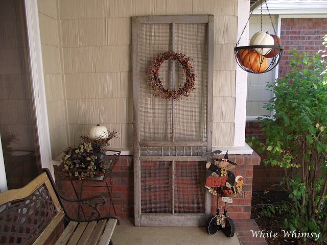An Old Screen Door On The Front Porch | Screen door ...
