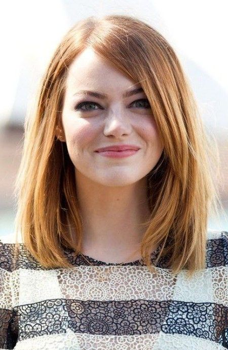 Celebrity Lob Hairstyle Inspiration For 2017