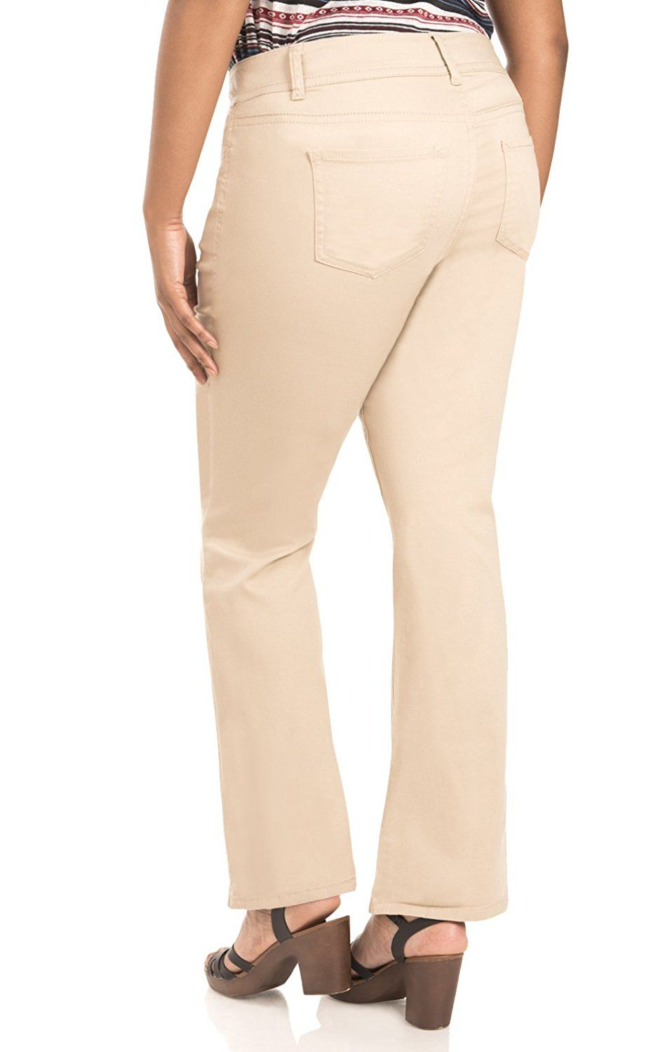 a1f279d52a WallFlower Plus Size Luscious Curvy Bootcut Chino Pants     See this great  product. (This is an affiliate link)  WomenKhakiPants