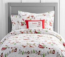 Holiday Bedding U0026 Christmas Bedding Sets | Pottery Barn Kids