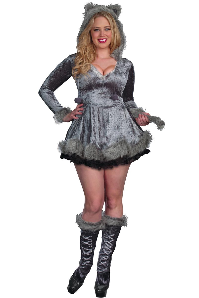 plus size halloween costume big bad wolf - Wolf Costume Halloween