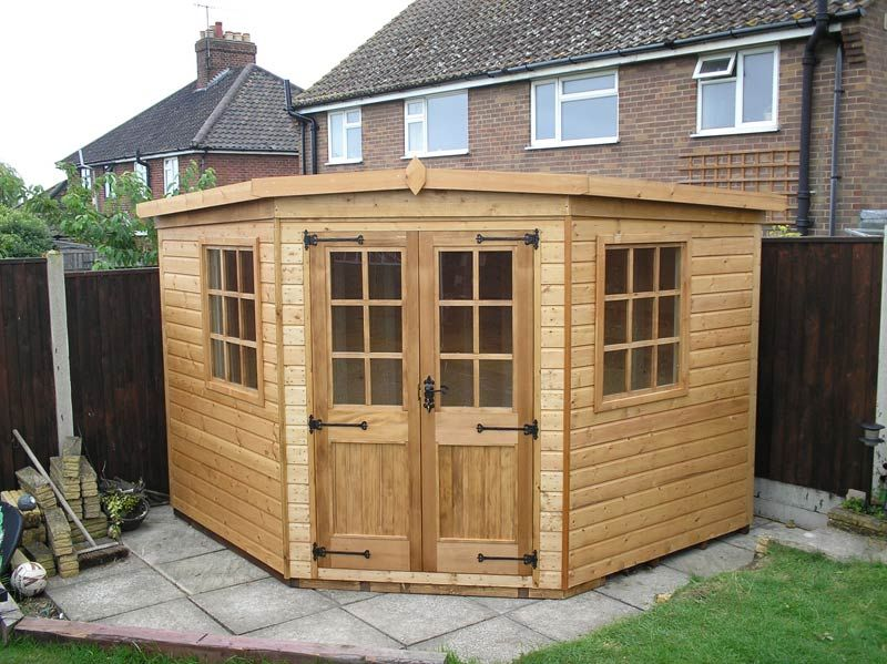 corner summer house Google Search Garden Ideas