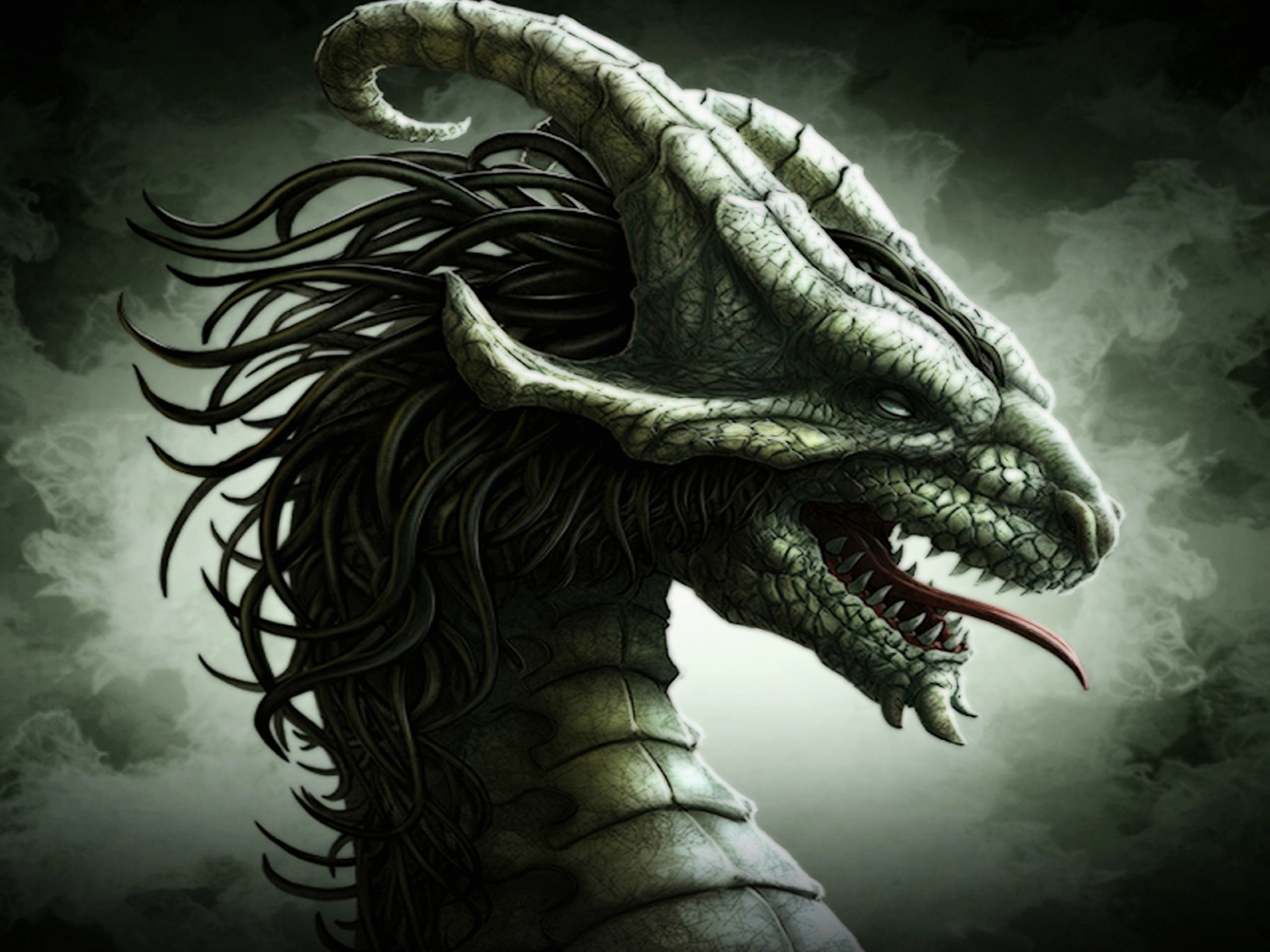 A dragon is a legendary creature, typically with serpentine or ...