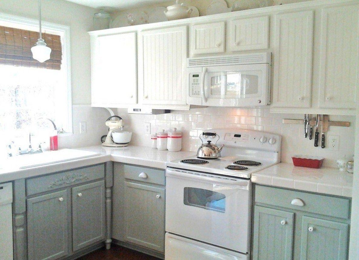 Lovely White Chalk Paint Kitchen Cabinets 18 Chalk Paint Kitchen ...