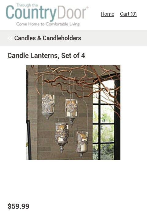 Through The Country Door With Images Country Doors Candle Lanterns Home