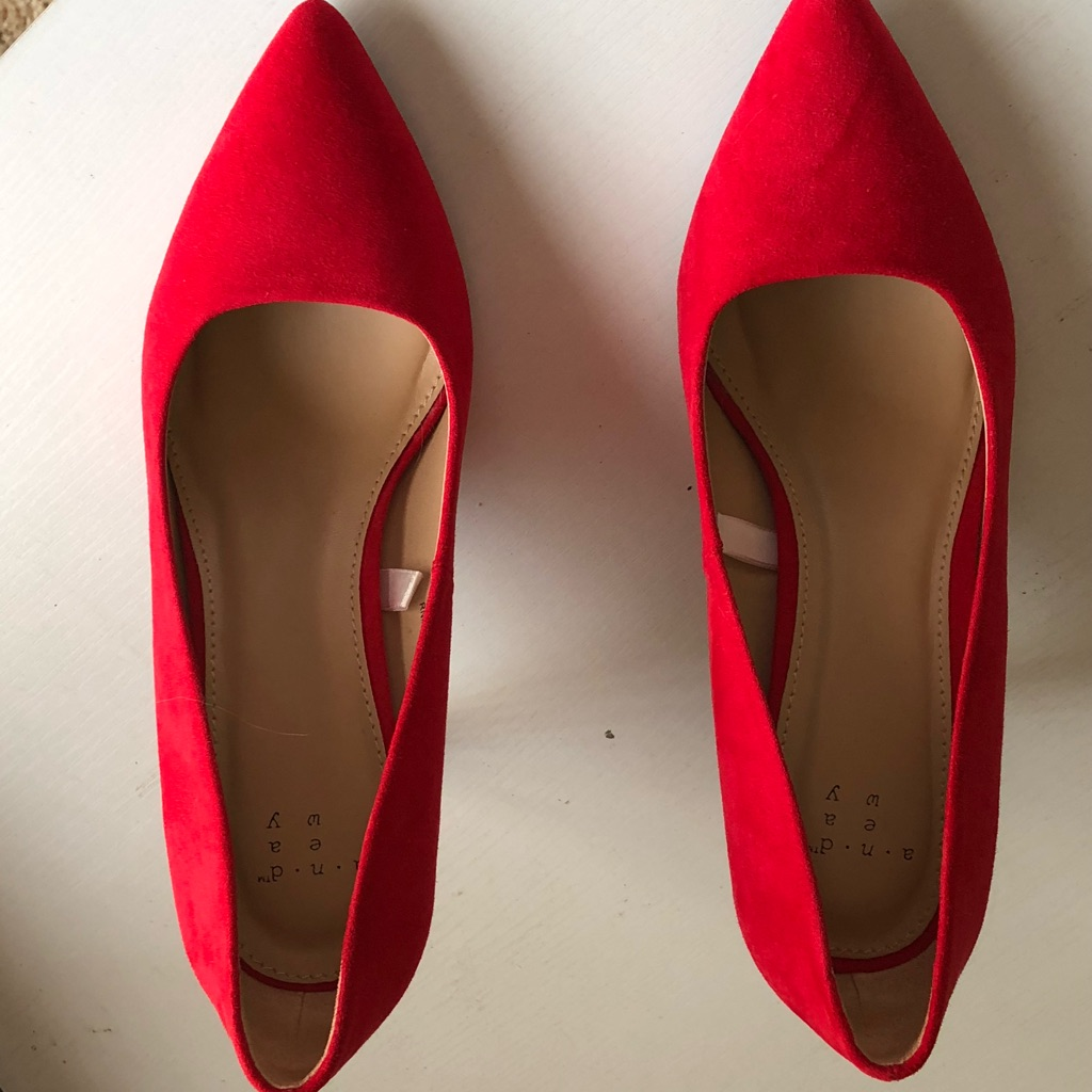 Target Shoes   Red Heels   Color: Red