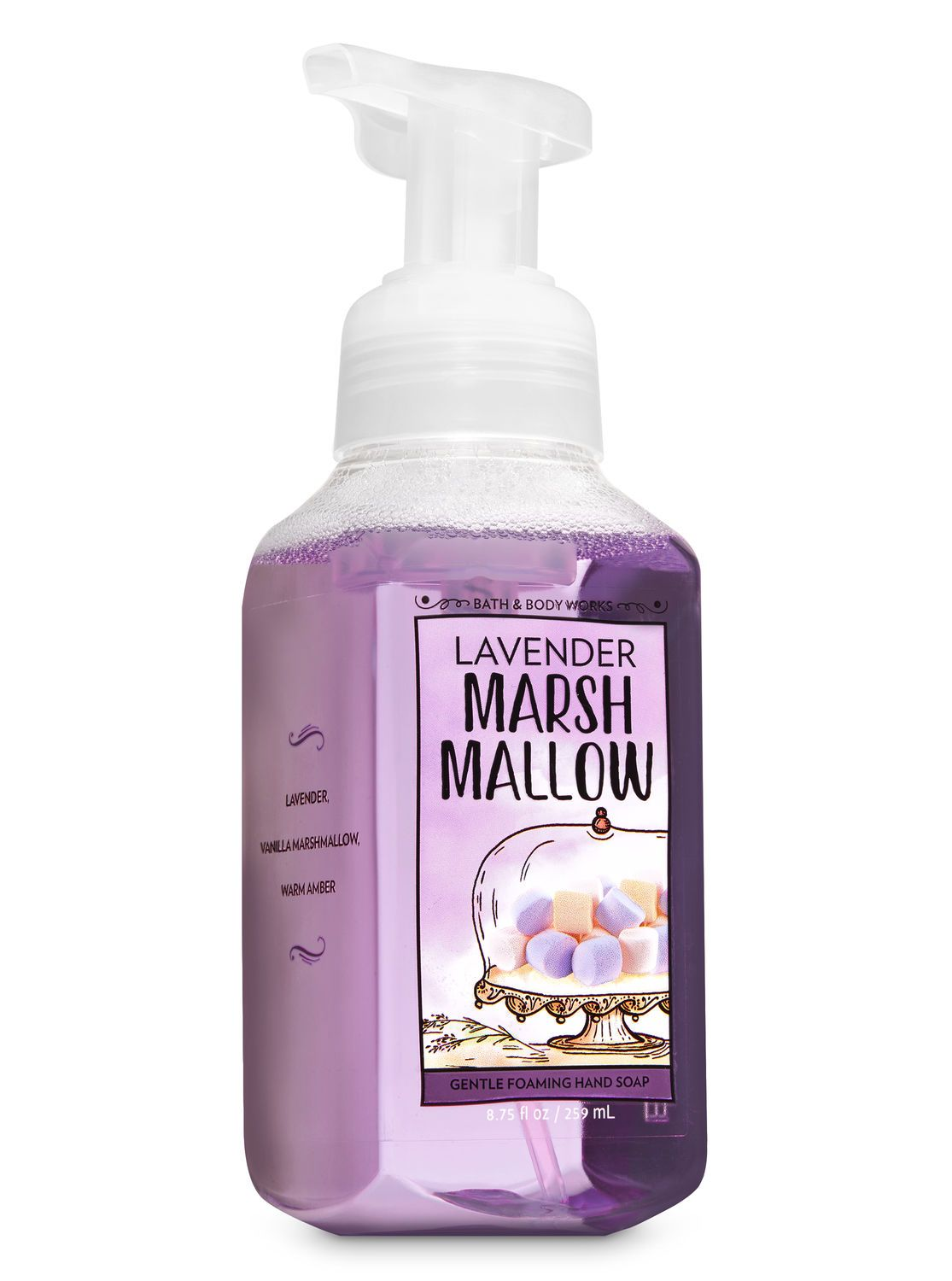 Lavender Marshmallow Gentle Foaming Hand Soap By Bath Body Works