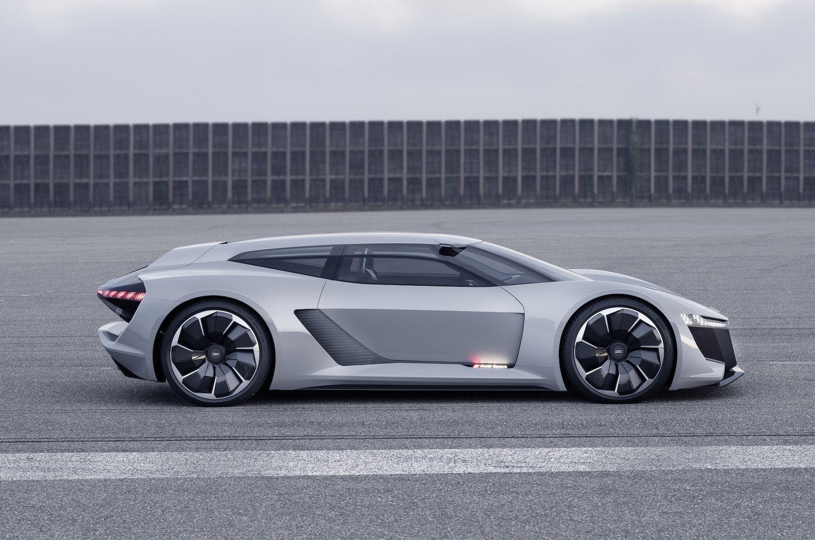 Audi Pb18 E Tron Concept Is A Vision Of Electric Excellence Audi Superauto Fahrzeuge