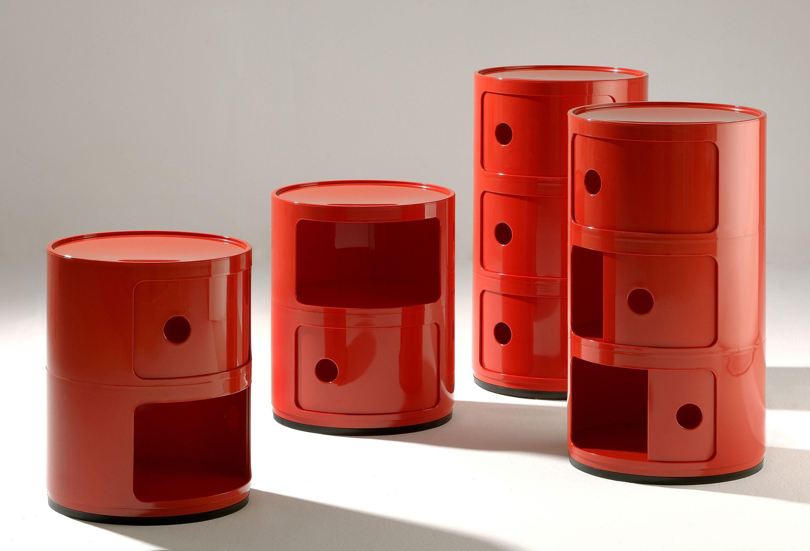 Table De Chevet Componibili rangement componibili / 2 tiroirs - h 40 cm - kartell