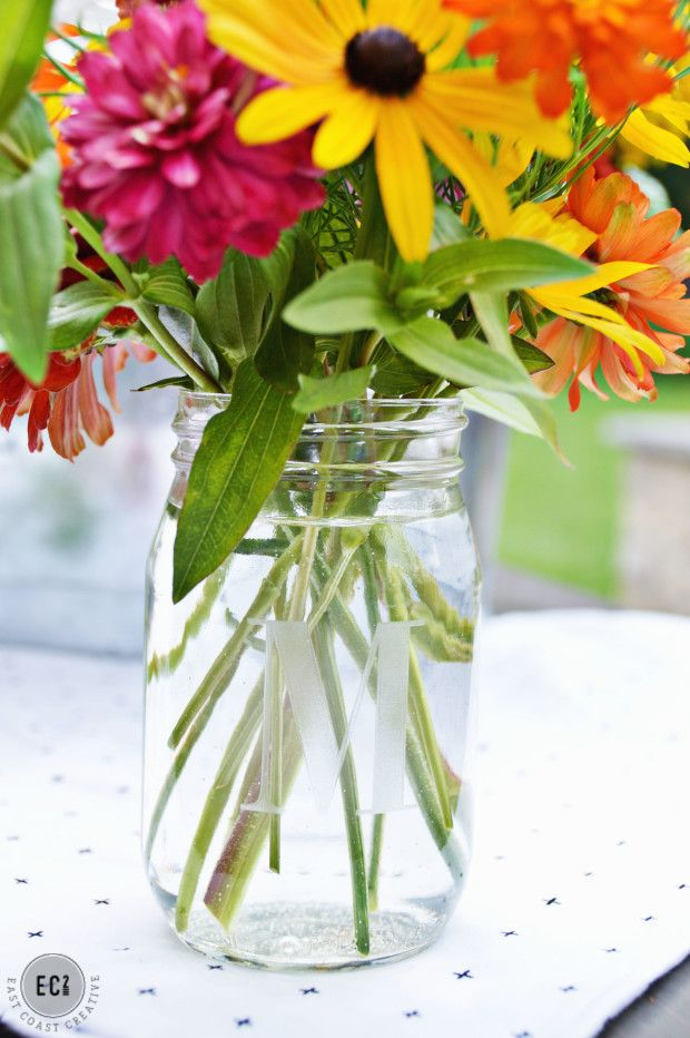 Get Creative With Personalization Make It Your Own Desk Flowers Flower Arrangements Pretty Flowers