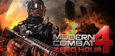 Modern Combat 4 Zero Hour V1 0 4 Apk Free Download Apk Stall Android Game Apps Free Android Games Android Games