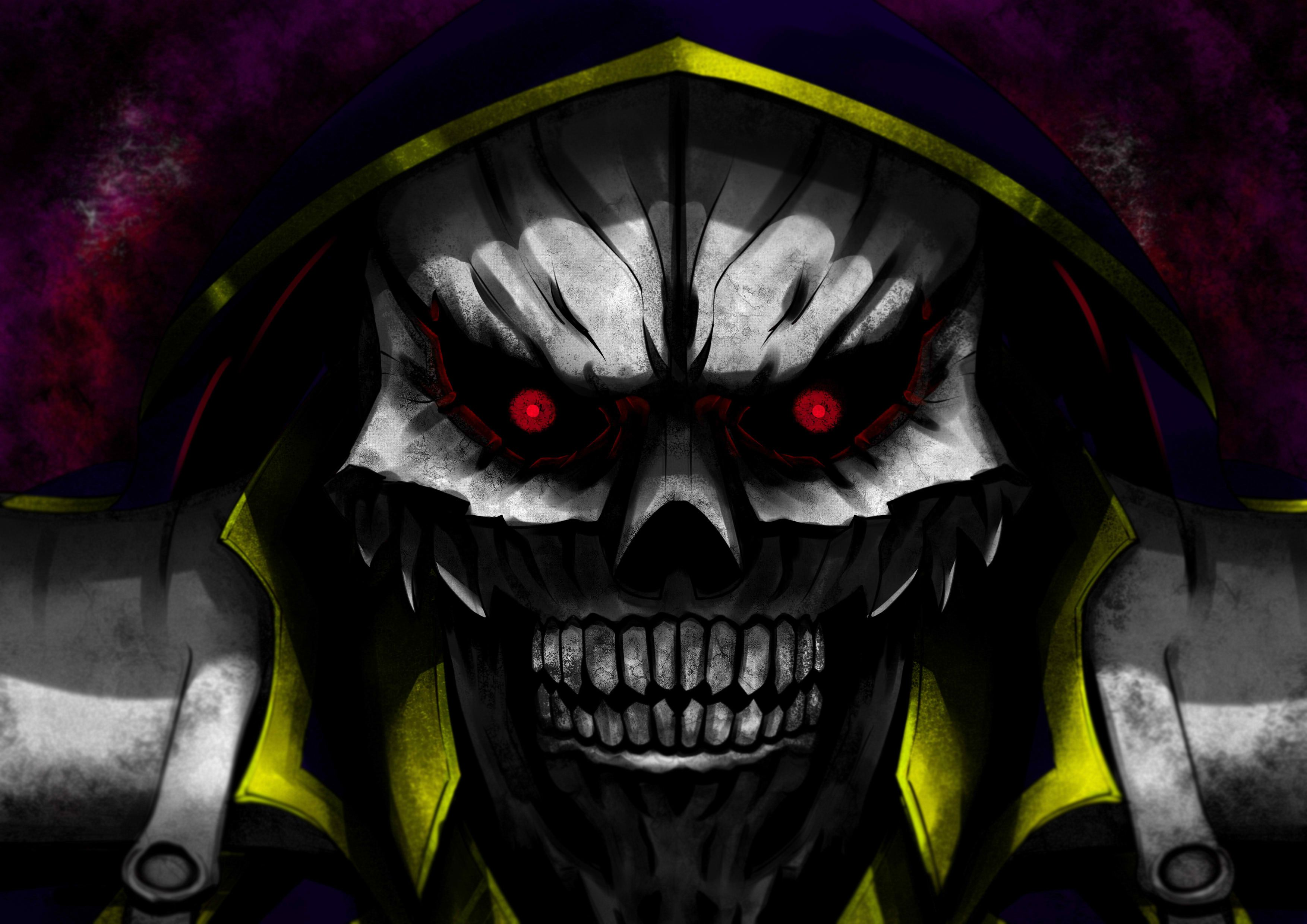 Ainz Ooal Gown Computer Wallpapers Desktop Backgrounds 3507x2480 Id 649373 Anime Wallpaper Backgrounds Japanese Novels