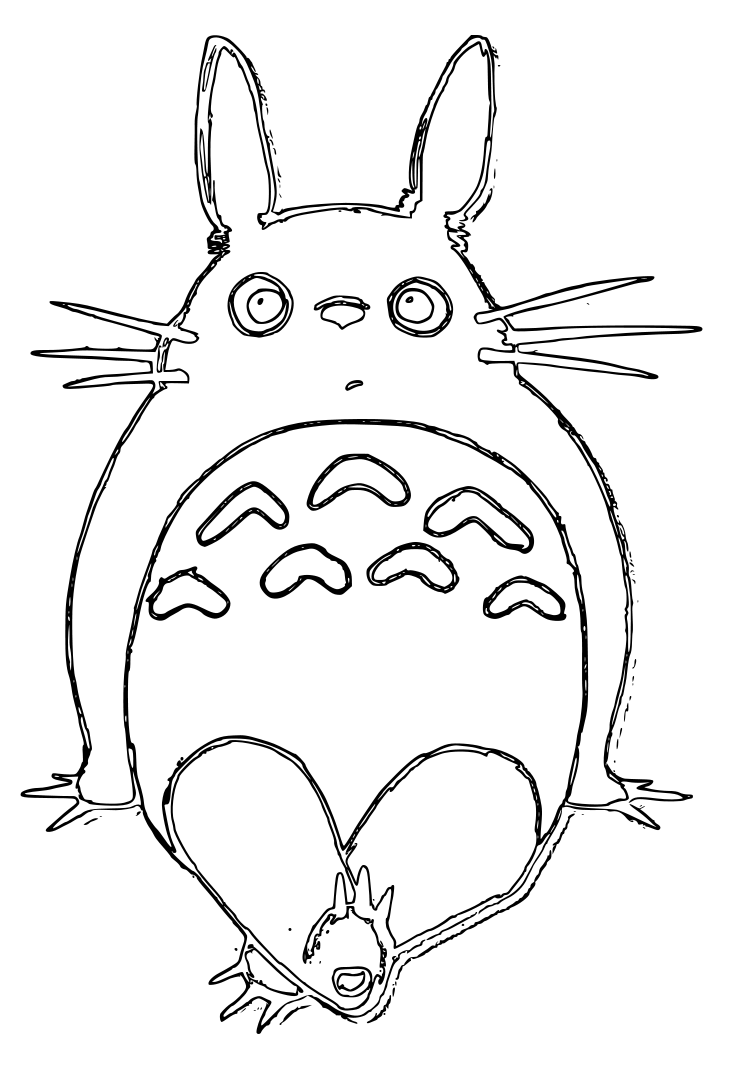Totoro | Coloring Pages | Pinterest | Totoro and Planners