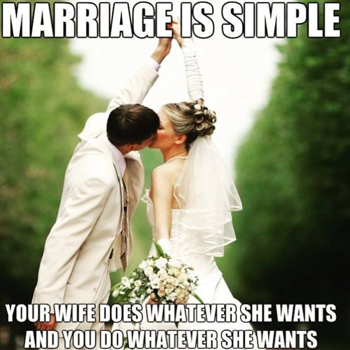 40 Hilarious Memes That Perfectly Sum Up Married Life Wedding Meme Marriage Memes Marriage Humor