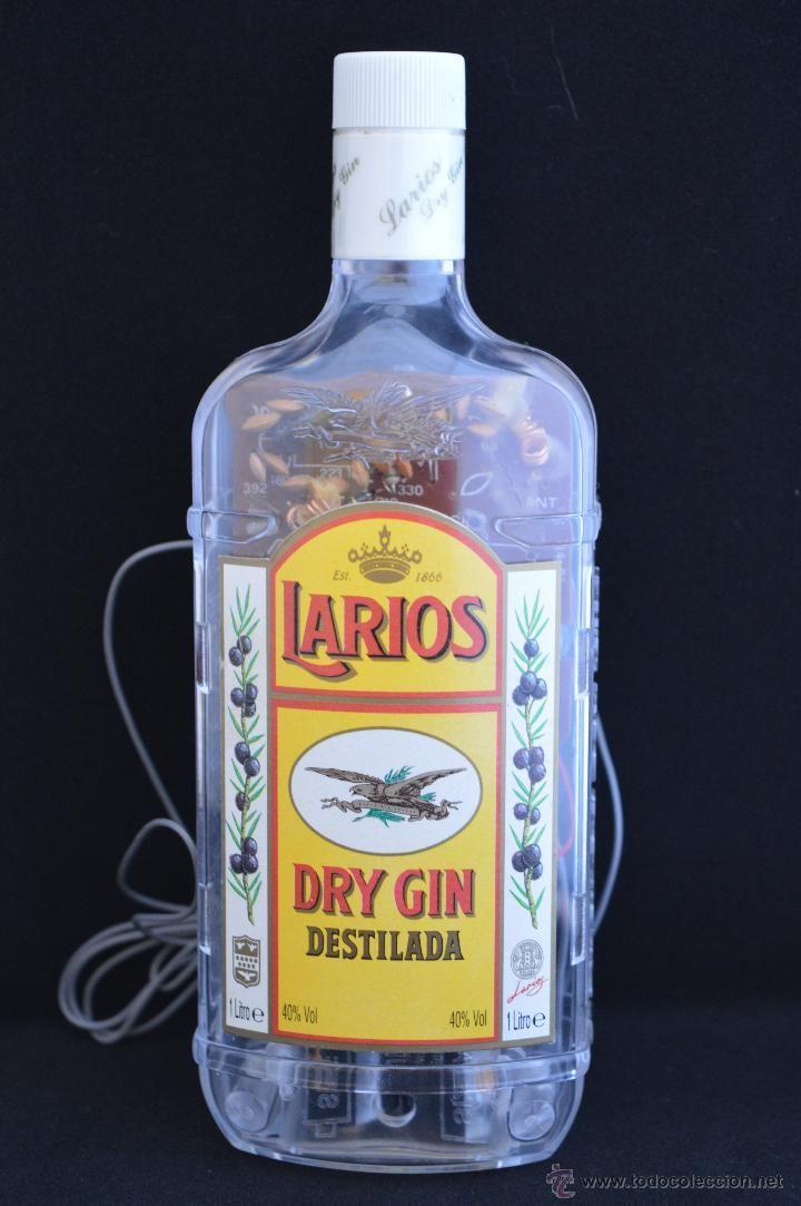 Radio Publicitaria Publicidad Botella Ginebra Larios Funcionando