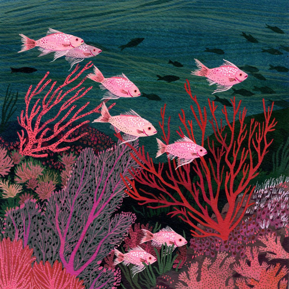 Underwater Sea Illustration