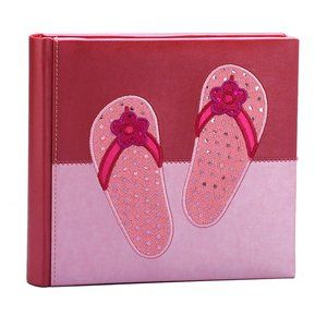 Fetco Home Decor Heidi Sparkle Flip Flops Picture Album My Style