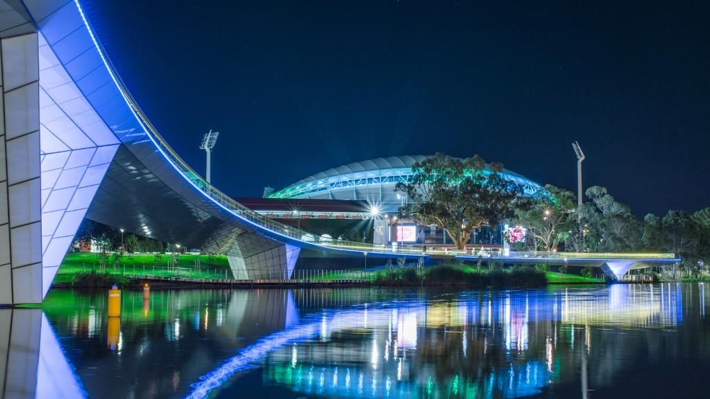 The spectacular Adelaide oval shows us how important #lighting is. Photo by Jamie Lee #lightfunc #lightingdesign  http://buff.ly/2mPXpLL