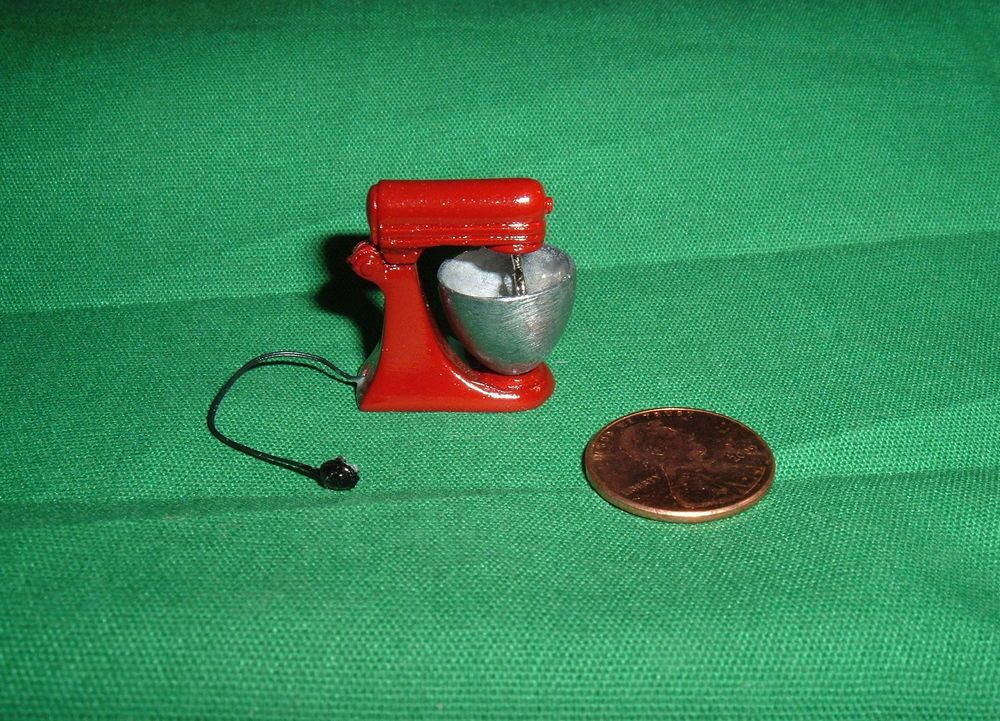 Dollhouse Miniature Kitchen Toaster Oven with Cord ~ T8474