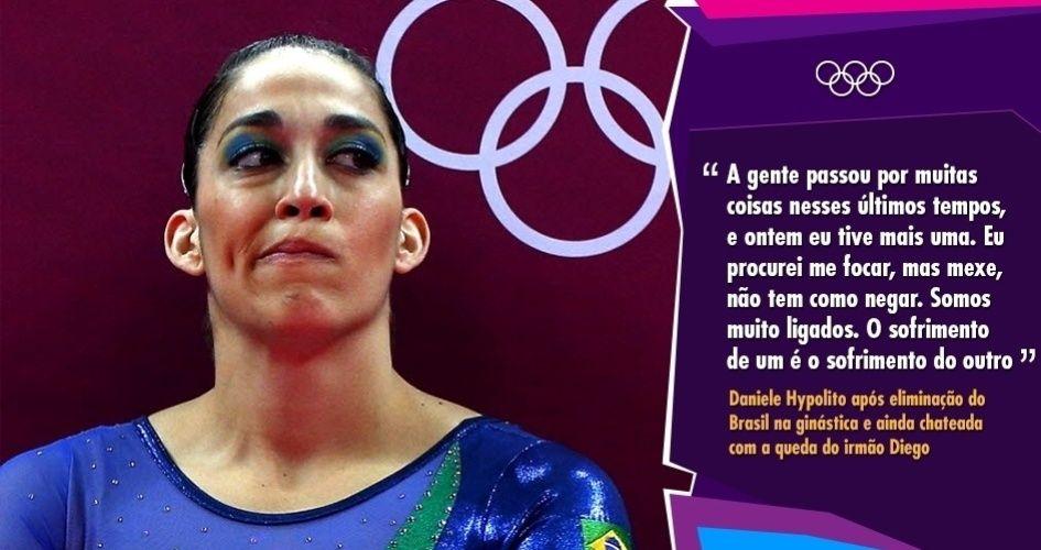 Melhores Frases Dos Jogos Olimpicos De Londres Jogos Olimpicos Daniele Hypolito Frases
