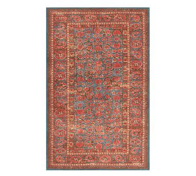 Marguerite Printed Rug Multi In 2020 Synthetic Rugs
