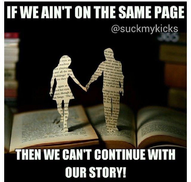 same page love !