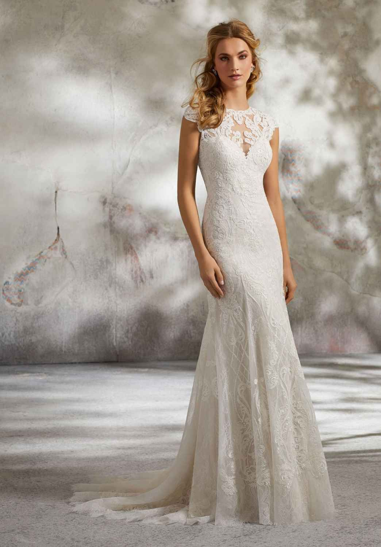 2bab18d3376e Mori Lee Wedding Dresses stocked at London Bride UK Lacné Svadobné Šaty