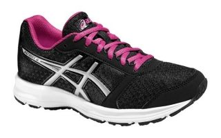 zapatillas asics negras mujer running