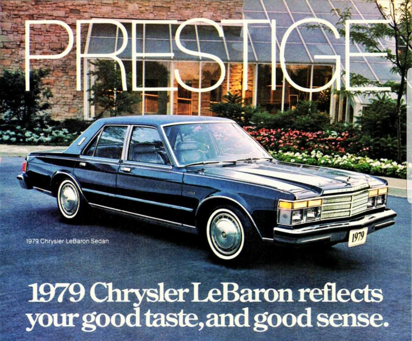 1979 Chrysler Lebaron Sedan With Images Chrysler Lebaron