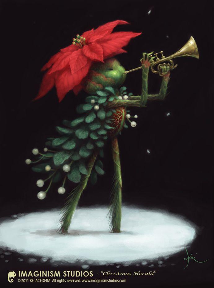 Christmas Herald by Kei Acedera, Imaginism Studios  www.imaginismstudios.blogspot.com