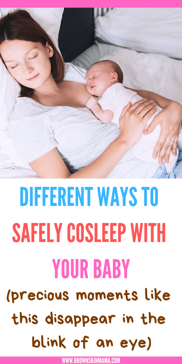 There Are Many Benefits To Cosleeping As Long As You Follow Some Safety Rules For Cosleeping With Your Newborn Or T Safe Co Sleeping Cosleeping Newborn Sleep