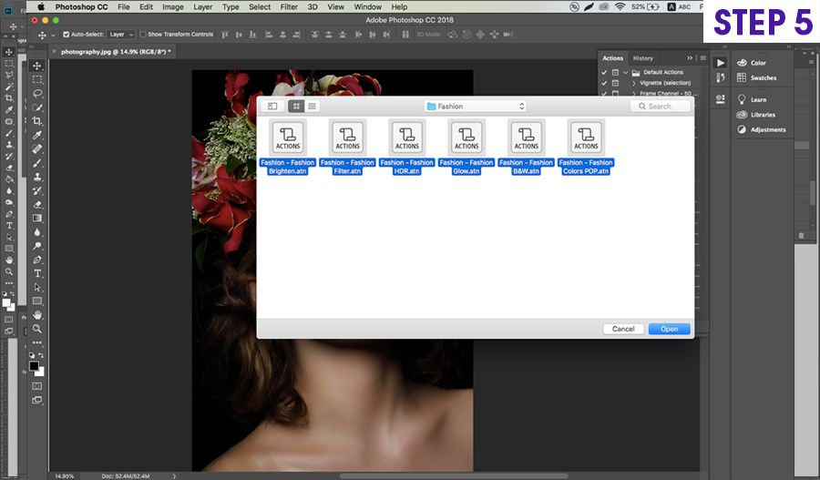 How to Install And Use Photoshop Actions For Your Photographs