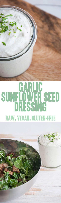Sunflower Seed Dressing (raw, vegan, gluten-free) |