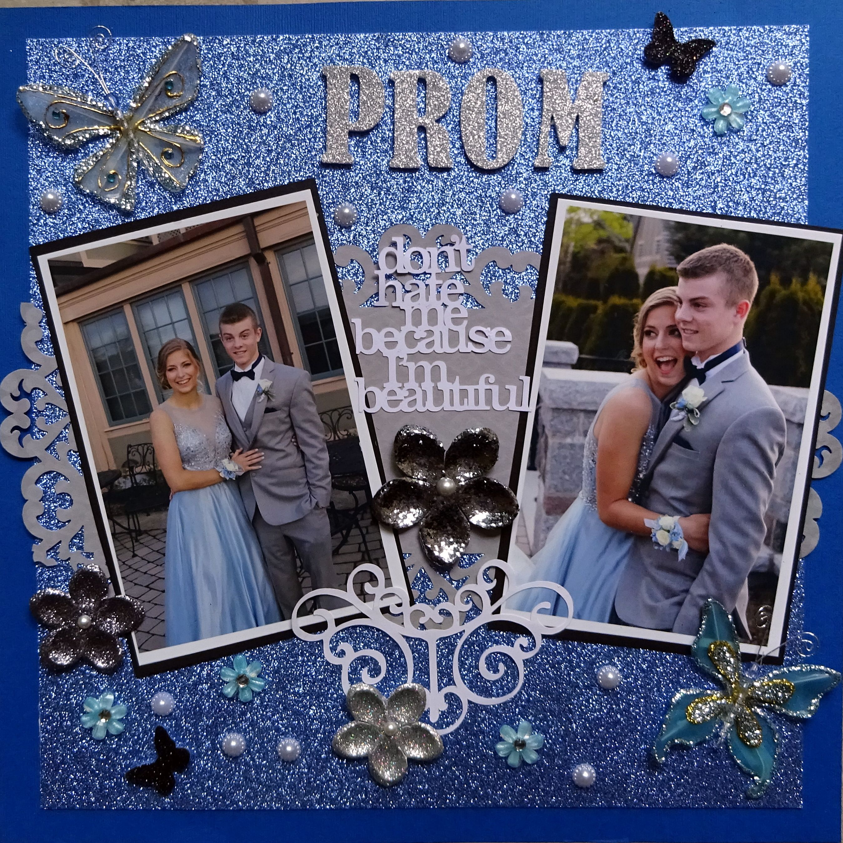 PROM (With images) Graduation scrapbook
