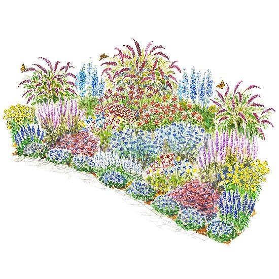 Beautiful Butterflies Garden Plan These Top Notch Plants Are Surefire  Winners For Attracting Butterflies To Your Garden.