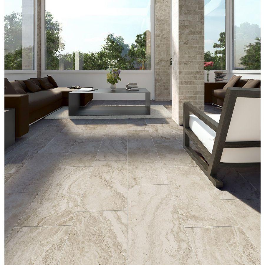Style Selections Geneseo Beige Porcelain Floor Tile