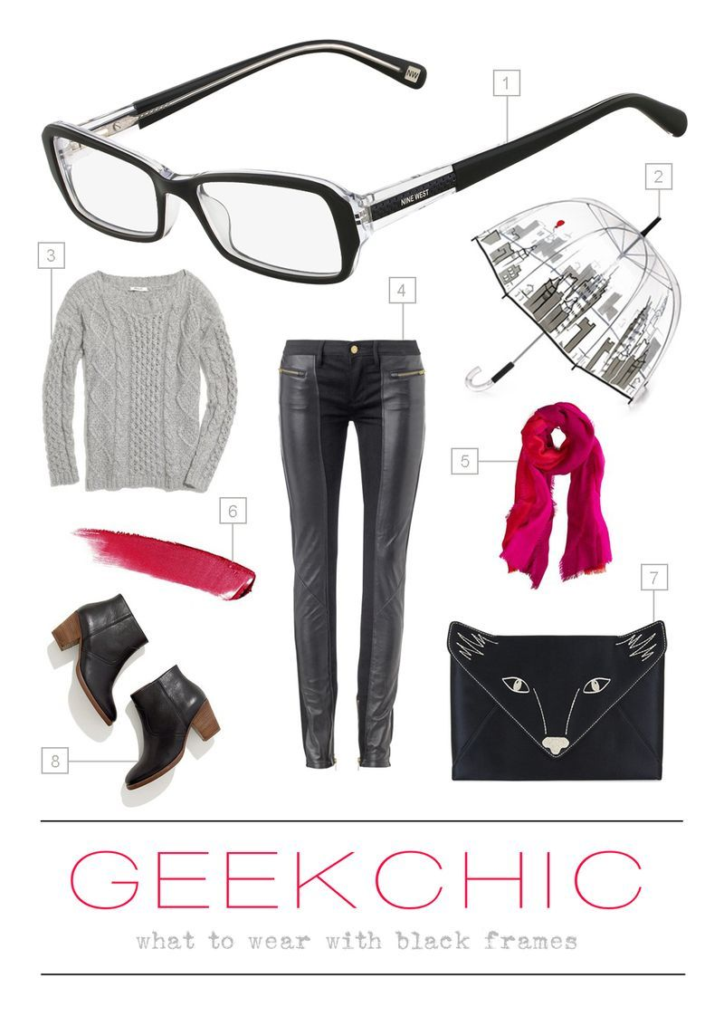 Geek Chic Style With VSP & Nine West