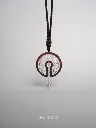 Song. Original design Silver Rosewood Pendants
