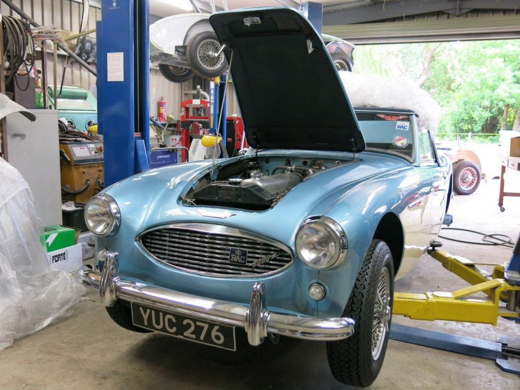 Austin Healey 3000 MK I YUC 276 in recent years has been maintained ...