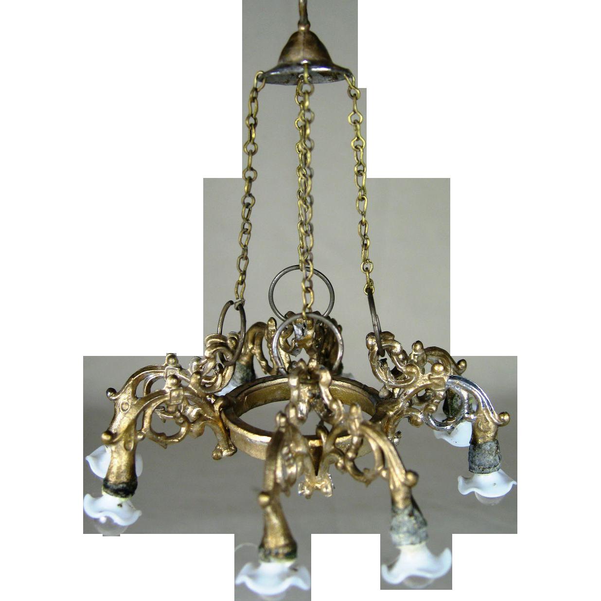 Dollhouse miniature chandelier brush away the night with miniature dollhouse miniature chandelier arubaitofo Choice Image