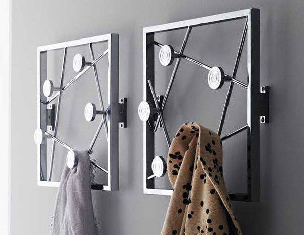Functional And Cool Wall Mounted Coat Rack Ideas For Your Hallway Wall Mounted Coat Rack Coat Rack Wall Modern Coat Rack