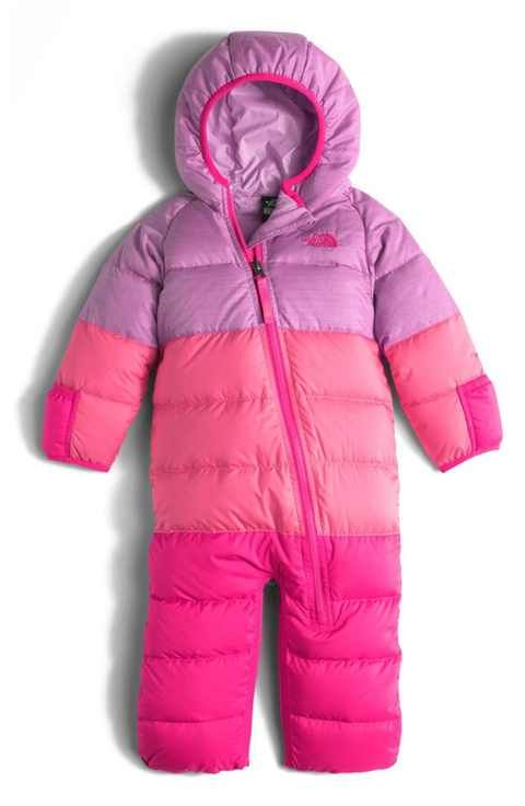 54c9c2816 The North Face 'Lil Snuggler' Water Resistant Down Bunting (Baby ...