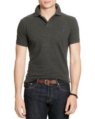 POLO RALPH LAUREN Mesh Slim Fit Polo Shirt. #poloralphlauren #cloth #shirt