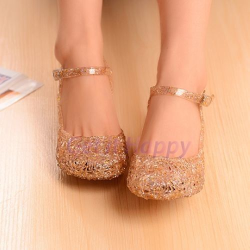 6acd0ffcbd1781 Hole Shoes Flat Sandals Bird s Nest Plastic Crystal Jelly Women Sandals  Shoes